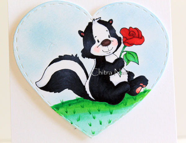 WS Skunk with Rose (2)